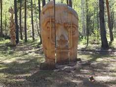 International Festival of wooden sculpture «Lukomorye»