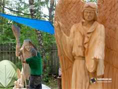 The 12th International Woodcarving Festival Contest