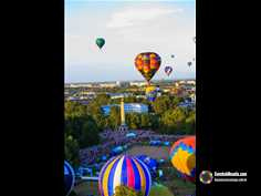 The International Hot Air Ballooning Festival