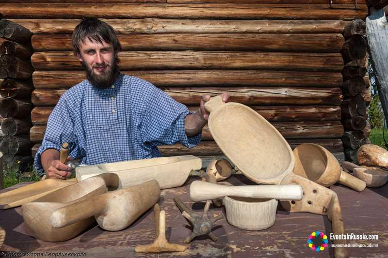 7 команд из России, Германии и Финляндии примут участие в фестивале плотницкого ремесла на о.Кижи