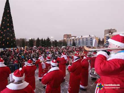 В Рыбинске пройдет крупнейшее предновогоднее мероприятие - «НаШествие Дедов Морозов»