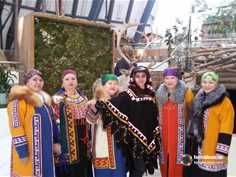 "The traditional Khanty holiday ""Vurna hutl"" - ""Crow's Day"""