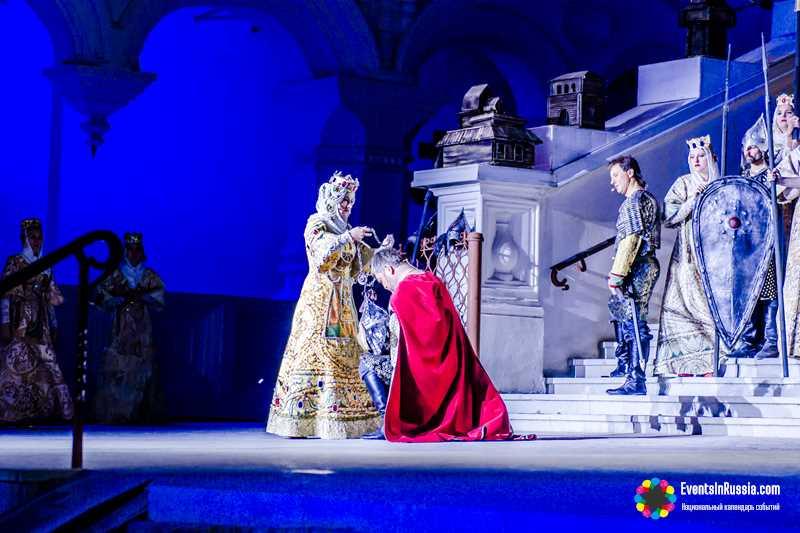 Театральный open air в Астрахани представит 'Слово о полку Игореве'