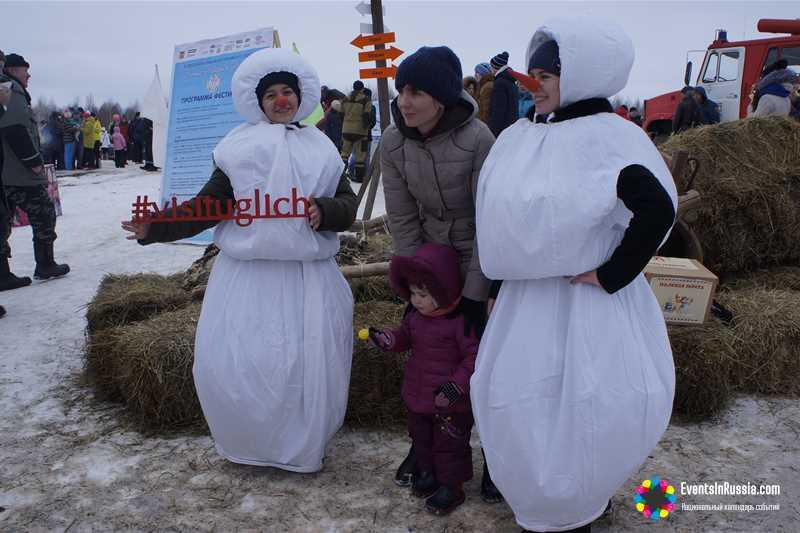 В Угличе состоялся тринадцатый фестиваль «Зимние забавы в Угличе»