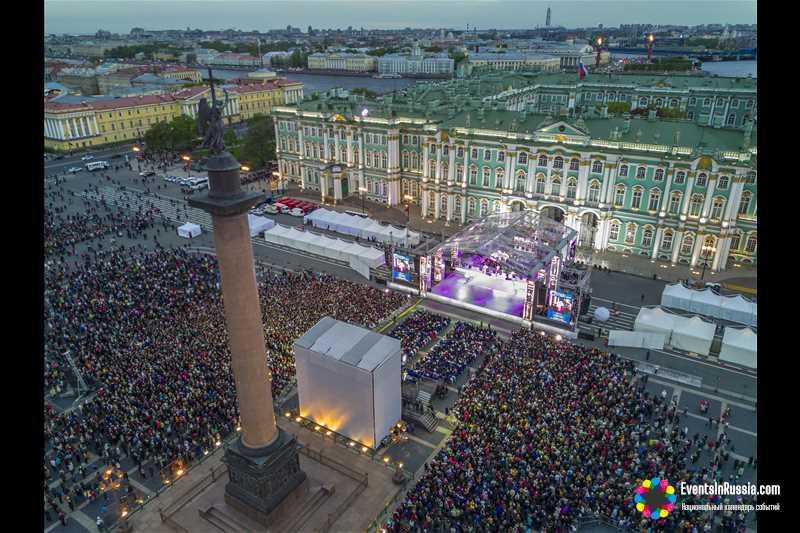 Программа празднования Дня города в Санкт-Петербурге 2019