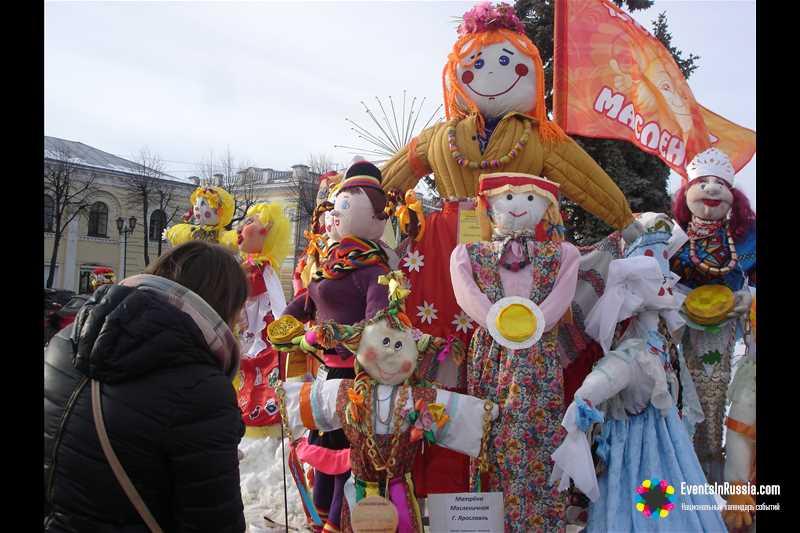 На Главной Масленице страны в Ярославле возродят масленичный обряд 17 в.