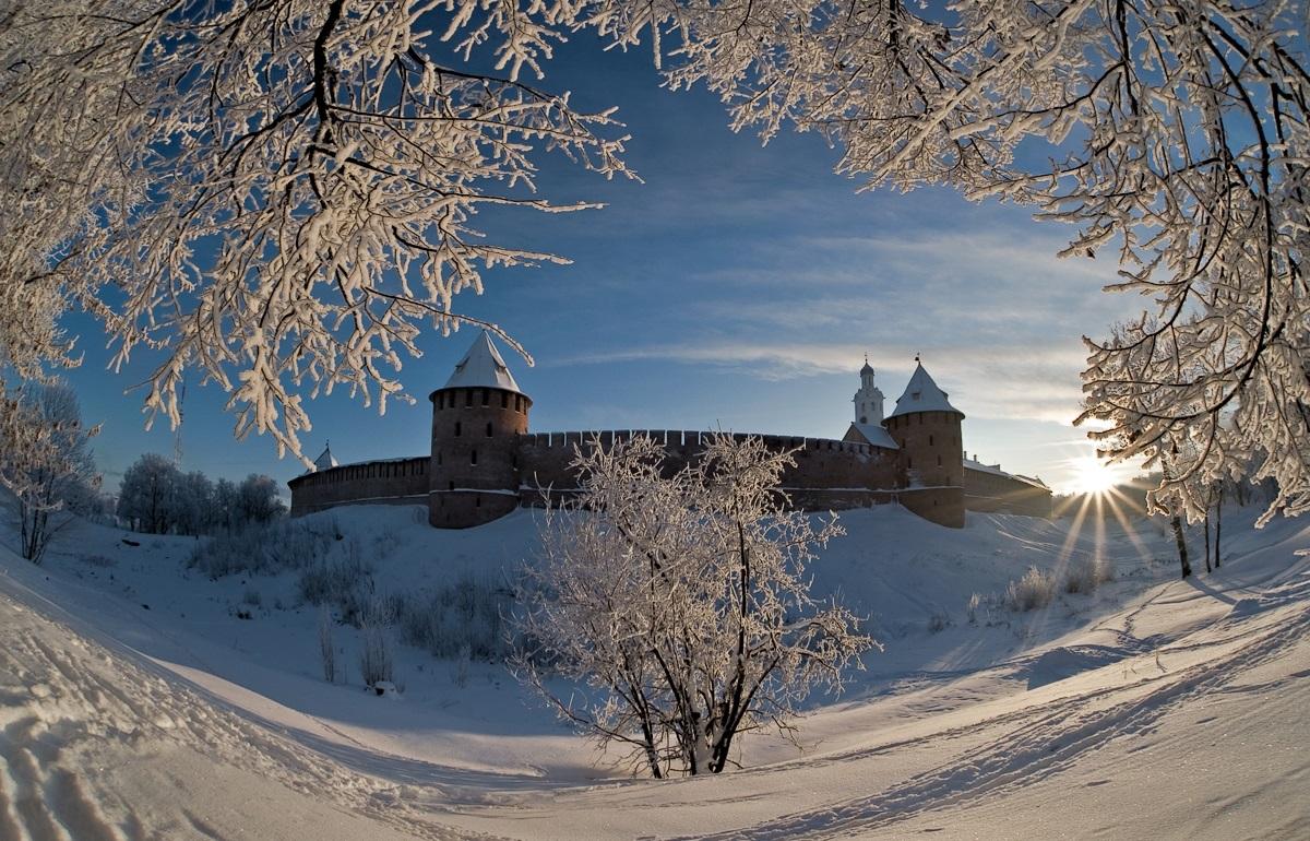 Афиша новогодних событий Великого Новгорода