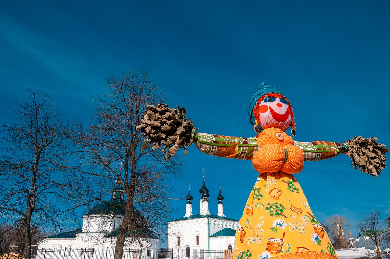 Масленица во  Владимирской области