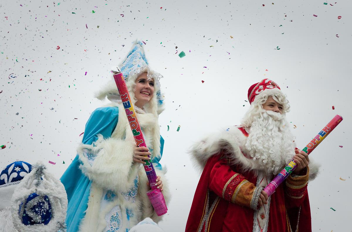 Санта-Клаус отдыхает, на арене – Дед Мороз!